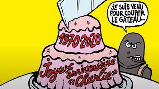 Le journal satirique fête ses 50 ans cette année (capture d'écran Youtube). (CHARLIE HEBDO)