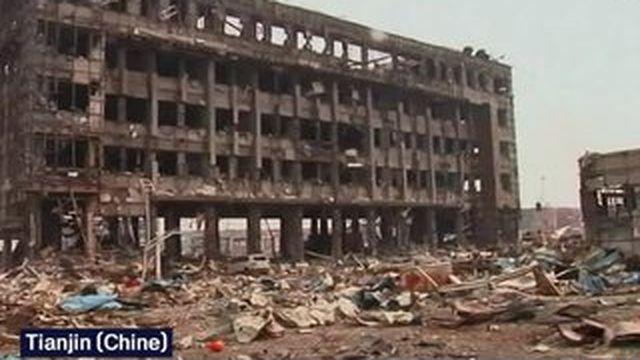 Inquiétude sur l'air de Tianjin après les explosions