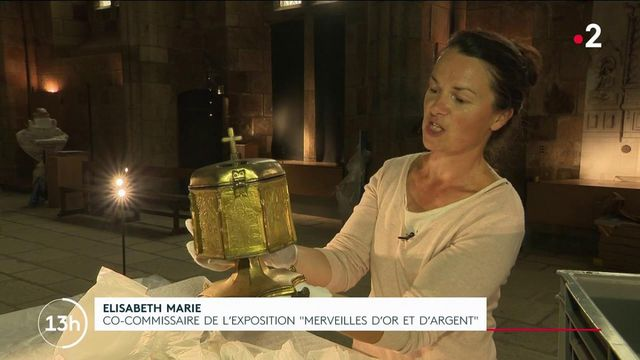 Normandie : dans les coulisses de l'exposition d'orfèvrerie du Mont-Saint-Michel
