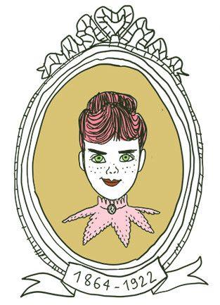 """Portrait de Nellie Bly dans les """"Culottées"""" de Penelope Bagieu (Gallimard) (PENELOPE BAGIEU)"""