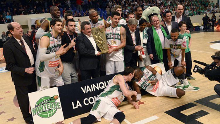 Nanterre remporte la Coupe de France (LIONEL BONAVENTURE / AFP)
