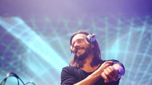 Le DJ français Bob Sinclar, le 24 avril 2015 à Rome (Italie). (ERNESTO RUSCIO / REDFERNS / GETTY)