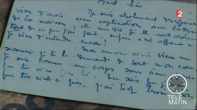 VIDEO. Une lettre d'amour de 1922 retrouvée sur un chantier de Nice
