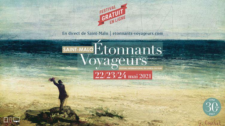 Affiche de la 30e édition du Festival Etonnants Voyageurs, 2021 (Etonnants Voyageurs)