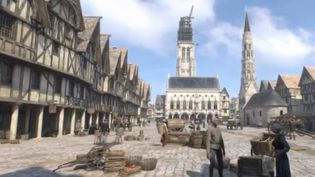 Bornes 3D Arras (FRANCE 3)