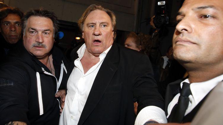 (Gérard Depardieu était très attendu à Cannes samedi soir © Reuters - Eric Gaillard)