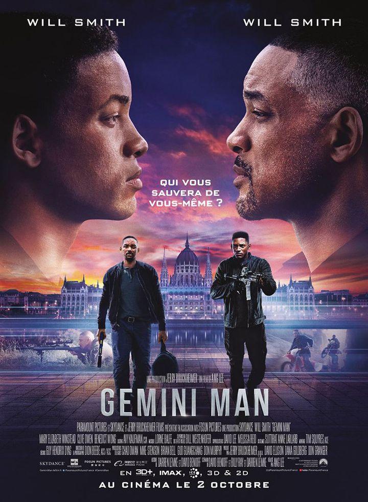 """L'affiche de """"Gemini Man"""" de Ang Lee (PARAMOUNT PICTURES FRANCE)"""