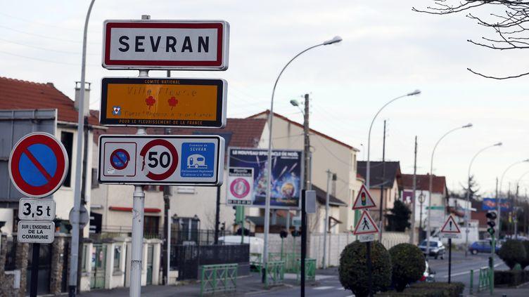 Sevran, en Seine-Saint-Denis, en janvier 2014. (PATRICK KOVARIK / AFP)