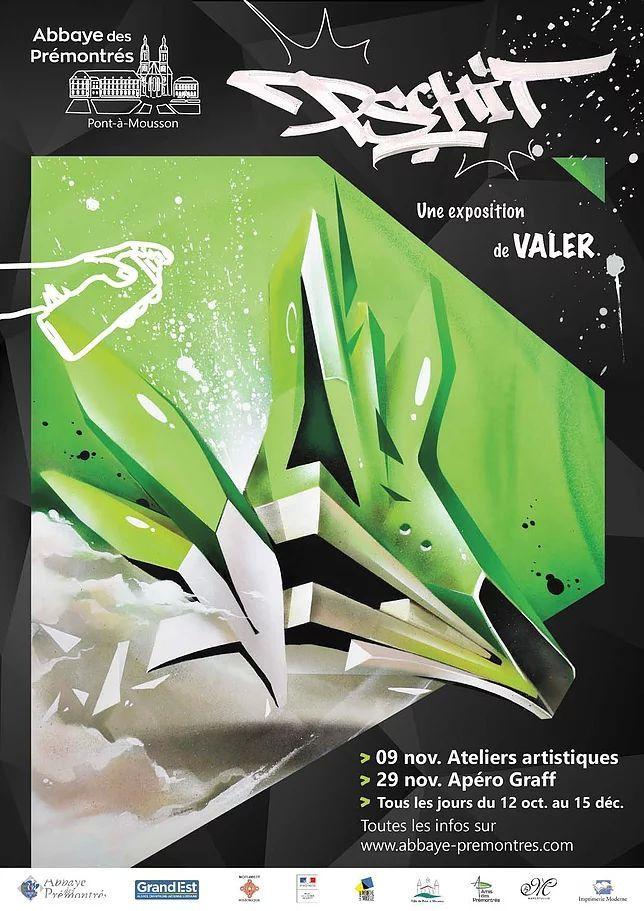 Valer expose à l'abbaye des Prémontrés (Valer Affiche)