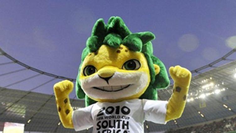 Zakumi, mascotte du Mondial sud-africain