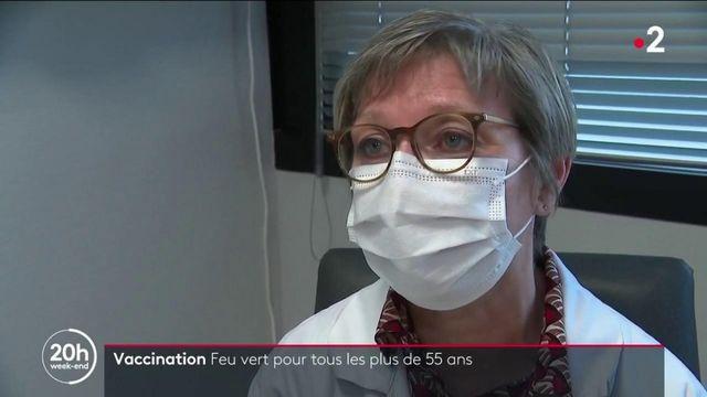 Covid-19 : ouverture de la vaccination aux personnes de plus de 55 ans