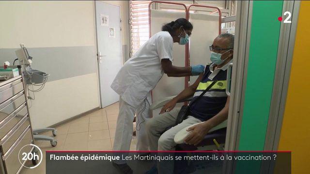 Martinique : les habitants se mettent-ils à la vaccination contre le Covid-19 ?