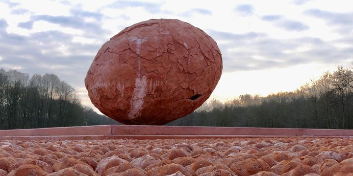 L'oeuf géant de Koen Vanmechelen  (Coming World Remember )