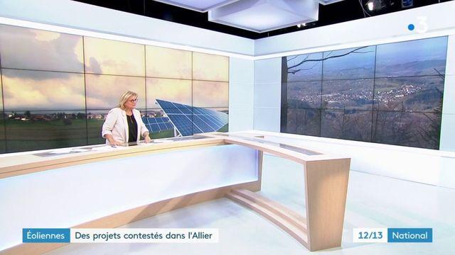 Eoliennes : des projets contestés dans l'Allier