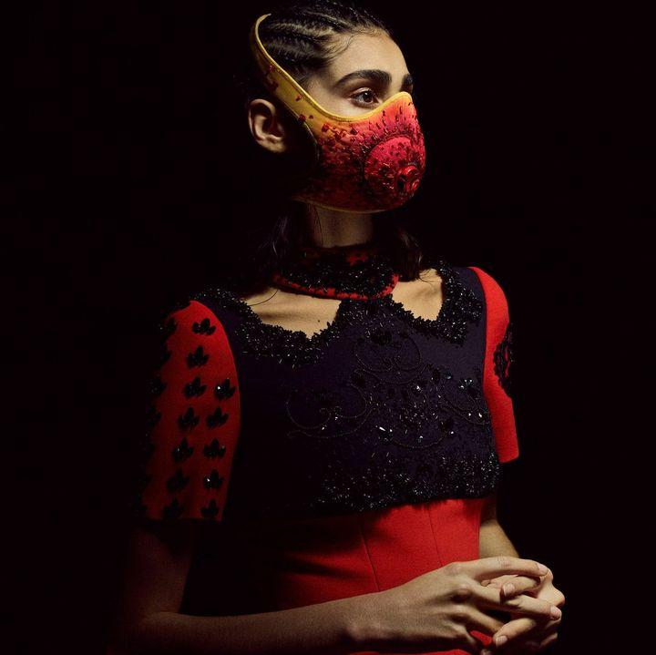 Aouadi X R-Pur : une collaboration haute couture caritative (Ouadi)