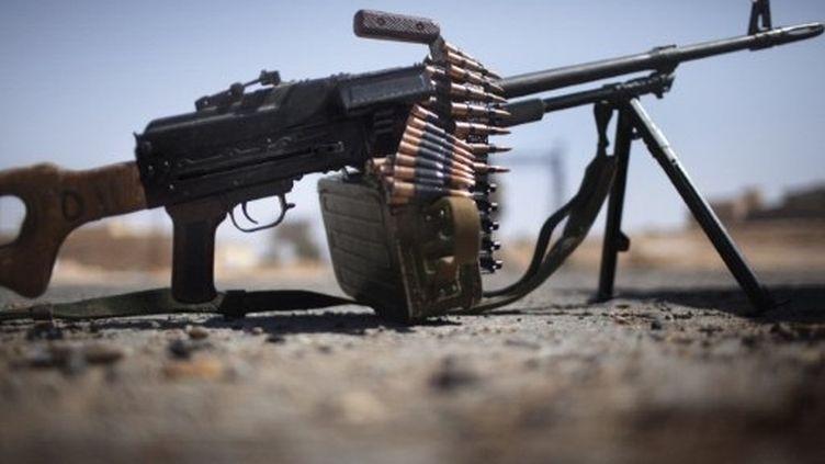 Les rebelles ont beaucoup du mal à tenir leurs positions. (AFP-Marco Longari)