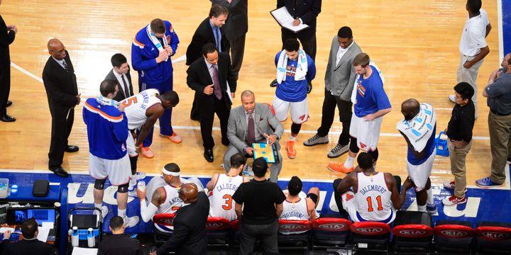Arrivé cet été à la tête des Knicks, Derek Fisher peine à se faire entendre
