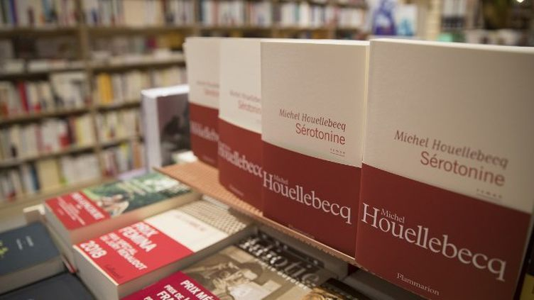 """""""Sérotonine"""" de Michel Houellebecq s'annonce déjà comme le carton de ce début d'année  (THOMAS SAMSON / AFP)"""
