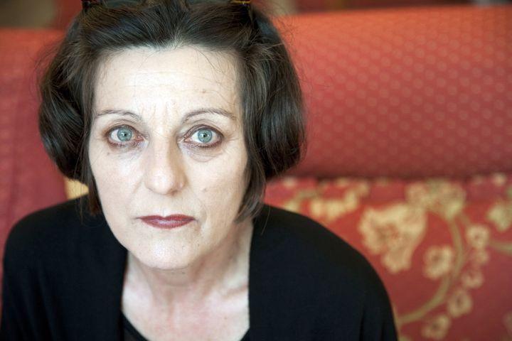 Portrait de l'écrivaine Herta Muller en juin 2010 (Marcello Mencarini / Leemage / AFP)