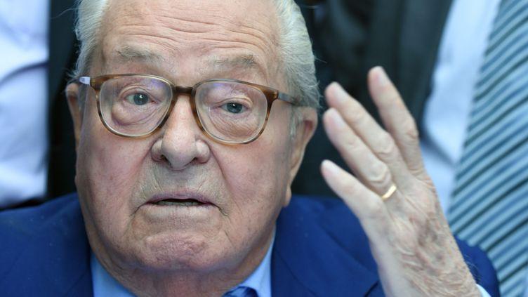 (Jean-Marie Le Pen le 5 septembre 2015 ©maxPPP)