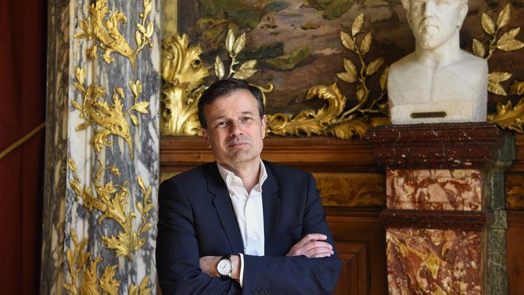 Olivier Mantei à l'Opéra Comique en avril 2017. (BERTRAND GUAY / AFP)