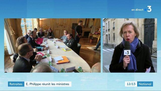 Réforme des retraites : Édouard Philippe réunit les ministres chargés des négociations