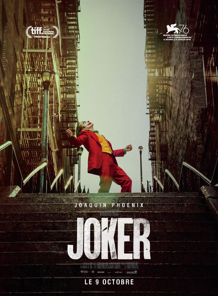 "L'affiche de ""Joker"" de Todd Phillips (Warner Bros. France)"