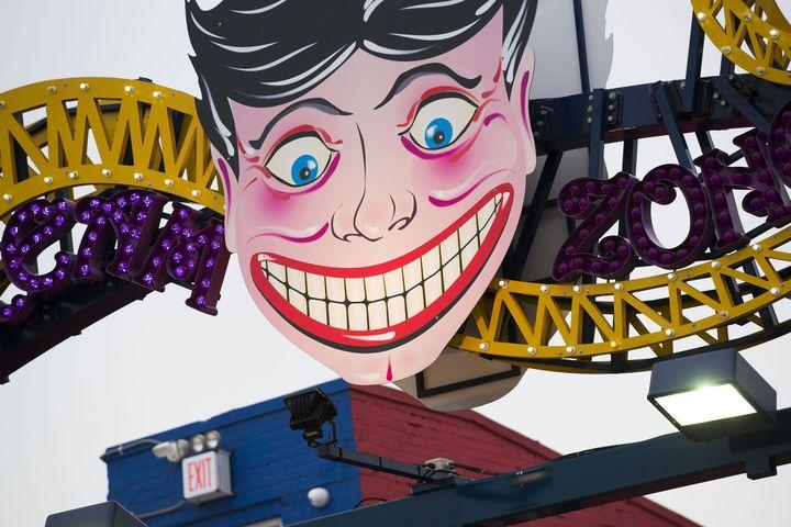 Mister Coney Island, Brooklyen, 2013  (William Klein / Polka Galerie)