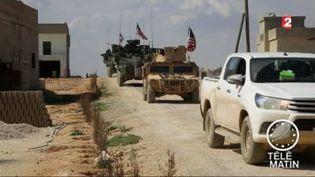 L'armée américaine avance en Syrie. (FRANCE 2)