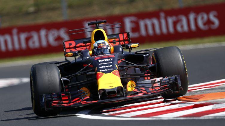 L'Australien Daniel Ricciardo au volant de sa Red Bull. (HOCH ZWEI / HOCH ZWEI)
