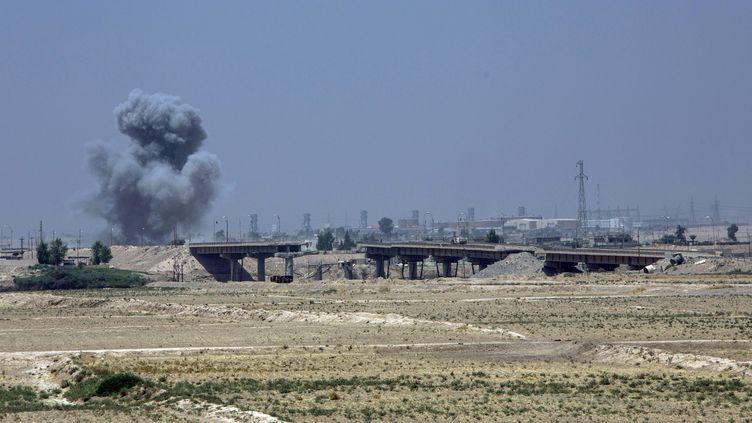 Les forces irakiennes, ici à Qayyara en août 2016, préparent les opérations pour tenter de reprendre à Daech la ville de Mossoul (LAURENCE GEAI/SIPA)
