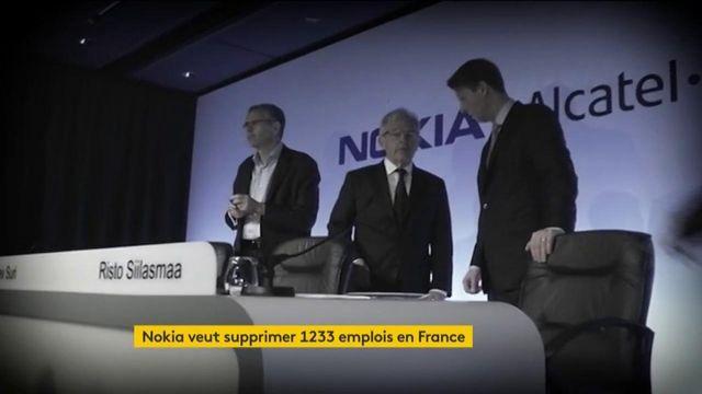 Nokia veut supprimer plus de 1 200 emplois en France