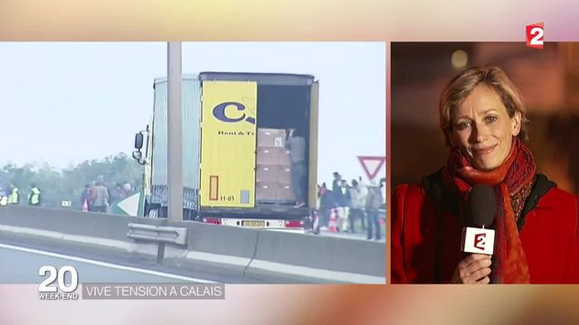 Calais : les no borders aident les migrants