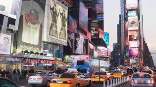 Times Square, à New York (Etats-Unis), le 6 mars 2012. (DITTO / IMAGE SOURCE / AFP)