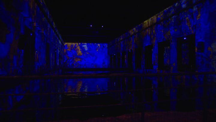 Un exposition consacrée à Yves Klein et son célèbre bleu, aux Bassins de Lumières à Bordeaux (France Télévisions / France 3 Aquitaine)