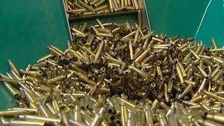 Des balles confectionnées par l'industriel Manurhin. (FRANCE 3)