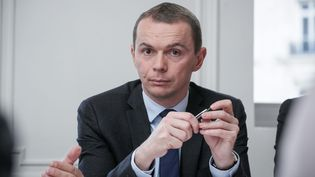 Le député socialiste de l'Ardèche, Olivier Dussopt, pour un changement desdirigeants et des méthodes au PS. (MAXPPP)