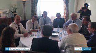 Le ministre iranien des Affaires étrangères a rencontré Emmanuel Macron au G7 à Biarritz (France 3)
