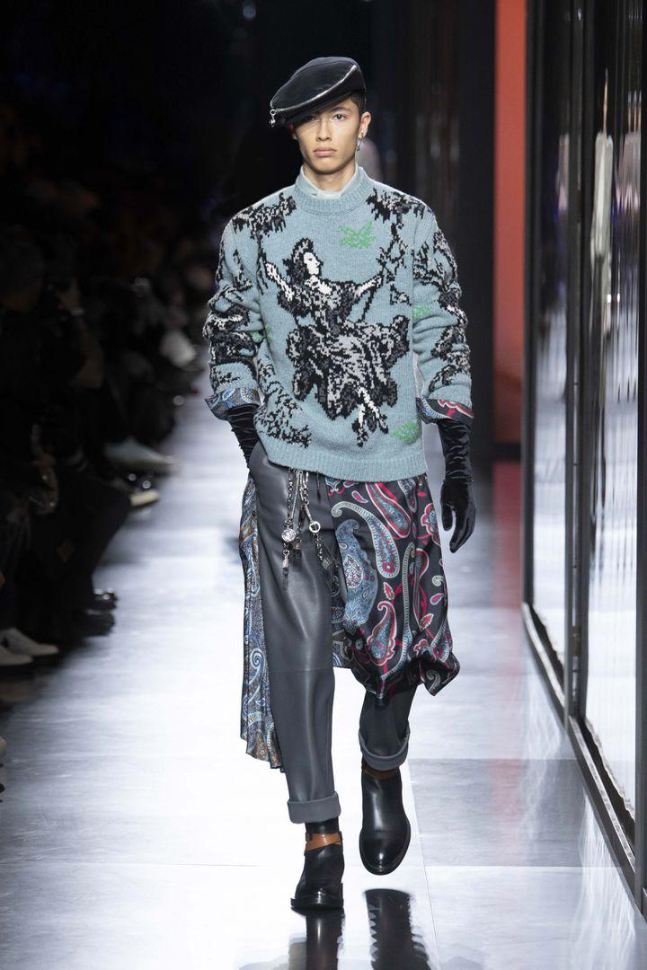 Fashion Week hommes, Paris. Défilé Dior, Hiver 2020/2021 (YANNIS VLAMOS)