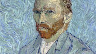 Le peintre Vincent Van Gogh, auto-portrait, 1889. (FINE ART / CORBIS HISTORICAL via GETTYIMAGES)