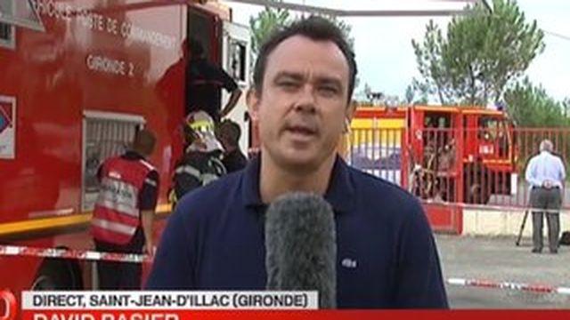 Gironde : les pompiers tentent de maitriser deux incendies