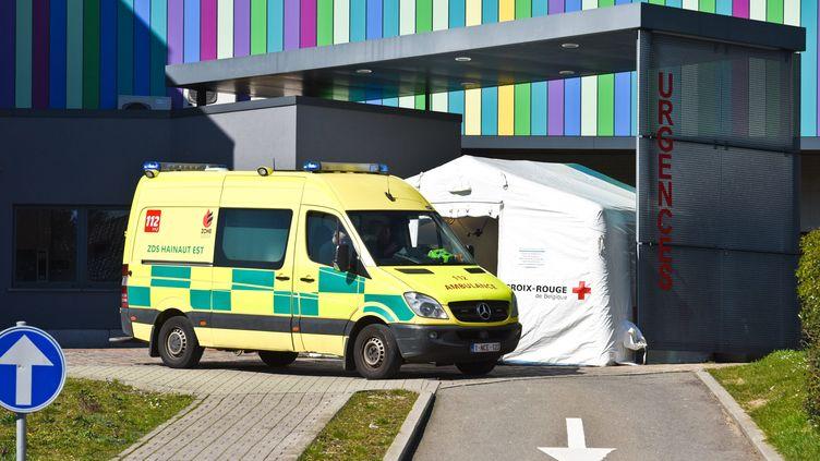 Un service d'urgence en Belgique (image d'illustration) (JEAN-LUC FLEMAL / MAXPPP)