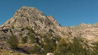 Une falaise de la vallée des Merveilles du parc national du Mercantour, dans le sud-est de la France. (FRANCE 3)