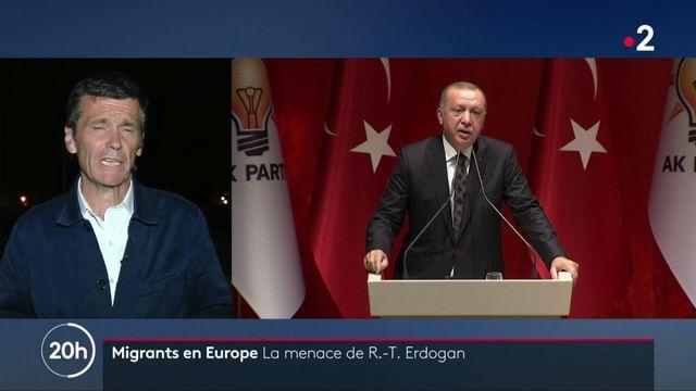 Syrie : Erdogan menace l'Europe d'ouvrir les frontières aux millions de réfugiés syriens