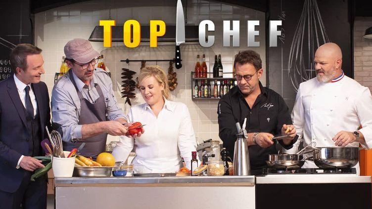 Les jurés de l'émission Top Chef, sur M6. (M6)