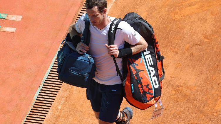 Le joueur écossais Andy Murray (VALERY HACHE / AFP)