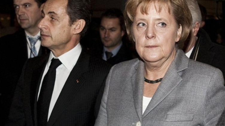 """Nicolas Sarkozy et Angela Merkel: une interprétation différente des termes """"gouvernement"""" et """"gouvernance"""" (AFP PHOTO- SCANPIX - Nikolai Linares)"""