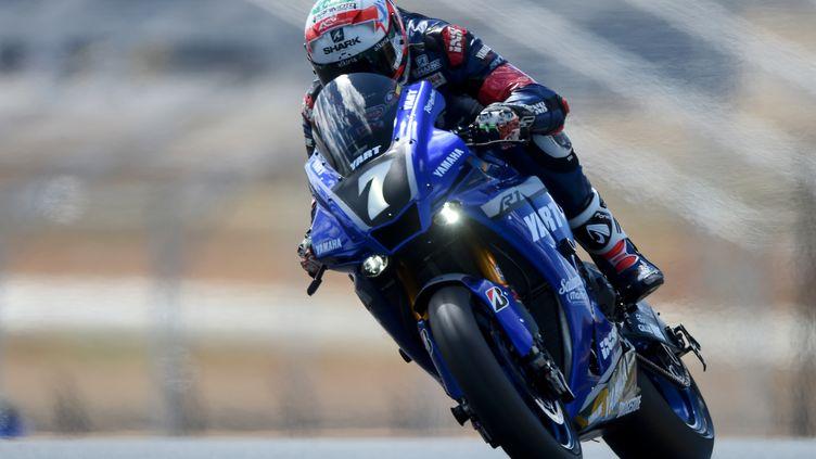 La Yamaha n°7 partira en pole position (JEAN-FRANCOIS MONIER / AFP)