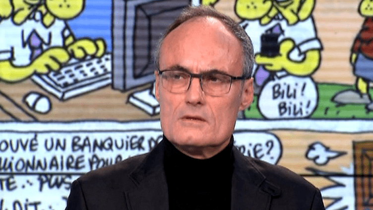 """Ancien directeur de Charlie Hebdo, Philippe Val était profondément meurtri par la mort de ses amis qui """"ont consacré leur vie à faire rire des choses graves""""  (France 3 Culturebox)"""