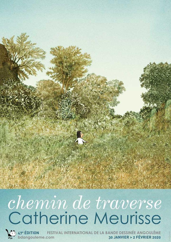 Extrait de l'affiche de l'expositionChemin de traverse (Mam Angoulême)